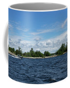 The Silver Bullet - Little Silver Boat Speeding Along Coffee Mug