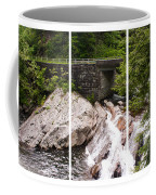 The Sinks Smoky Mountains Triptych Coffee Mug
