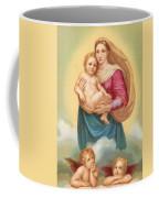 The Sistine Madonna Coffee Mug by Raphael