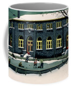 The Skaters Coffee Mug by Stephane Poulin