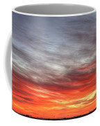 The Sky Is Smoking Hot In Widescape Coffee Mug