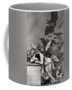 The Sleep Of Reason Produces Monsters Coffee Mug by Goya