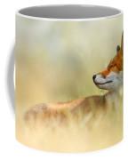 The Sleeping Beauty - Wild Red Fox Coffee Mug