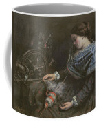 The Sleeping Embroiderer Coffee Mug by Gustave Courbet