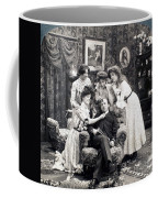 The Sleepy Lover, 1902 Coffee Mug