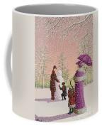 The Snowman Coffee Mug by Peter Szumowski