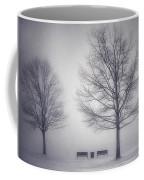 The Soft Breath Of Winter Coffee Mug