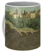 The Southwest Corner Of The Esplanade Of The Haram Coffee Mug by Tissot