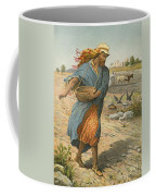 The Sower Sowing The Seed Coffee Mug by English School