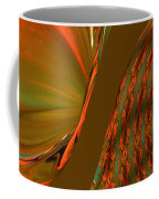 The Space Between Two Forces Abstract Coffee Mug