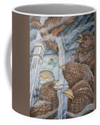 The Sparrows Of San Elizario Coffee Mug