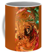 The Spirit Of Christmas - Abstract Art Coffee Mug
