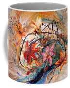 The Splash Of Life 17. Humming-bird And Exotic Flowers Coffee Mug