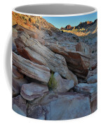 The Spotlight Fades At Valley Of Fire Coffee Mug