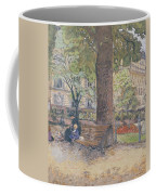 The Square At Vintimille Coffee Mug by Edouard Vuillard