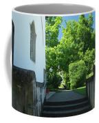 the stairs behind the Gottstatt Monastery church Coffee Mug