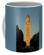 The State Capitol Building In Lincoln Coffee Mug