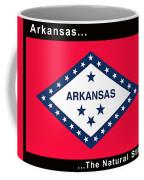 The State Flag Of Arkansas Coffee Mug