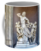 The Statue Of Laocoon And His Sons At The Vatican Museum Coffee Mug