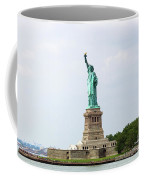The Statue Of Liberty In New York City Coffee Mug