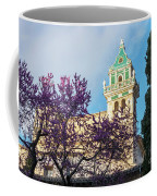 The Steeple Of The Valldemossa Charterhouse In Spring Coffee Mug