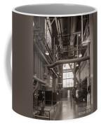 The Stegmaier Brewery Boiler Room Wilkes Barre Pennsylvania 1930's Coffee Mug