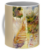 The Steps In Algiers Coffee Mug by Pierre Auguste Renoir