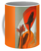 The Still Life With The Shadows Of The Flowers. Coffee Mug