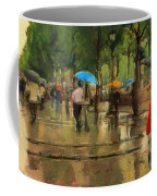 The Streets Of Paris In The Rain Coffee Mug