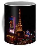 The Strip At Night 1 Coffee Mug