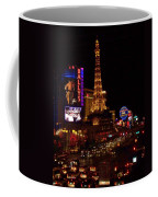 The Strip At Night 2 Coffee Mug