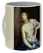 The Suicide Of Lucretia 1640 Coffee Mug