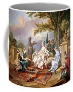 The Sultana Served By Her Eunuchs Coffee Mug