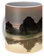 The Sun And Rocks Coffee Mug