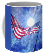 The Sun And The Flag Coffee Mug