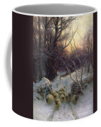 The Sun Had Closed The Winter Day Coffee Mug