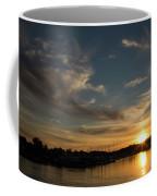 The Sun Sets In Milford Coffee Mug