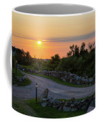 The Sun Sets On Block Island Coffee Mug
