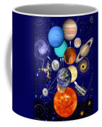 The Sunflower Solar System Coffee Mug