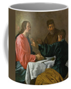 The Supper At Emmaus Coffee Mug