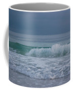 The Surf Rolls In At Holmes Beach Coffee Mug