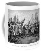 The Surrender Of Cornwallis At Yorktown Coffee Mug
