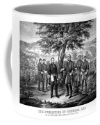 The Surrender Of General Lee  Coffee Mug