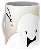 The Swan And The Little Flower Coffee Mug