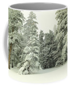The Sweep Of Snow Coffee Mug