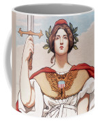 The Sword Is Drawn Coffee Mug