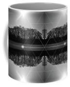 The Symmetry Of Light  Coffee Mug