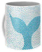 The Tail Of The Dotted Whale Coffee Mug by Deborah Boyd