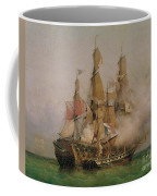 The Taking Of The Kent Coffee Mug by Ambroise Louis Garneray