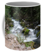 The Tananamawas Flowing Through The Forest Coffee Mug